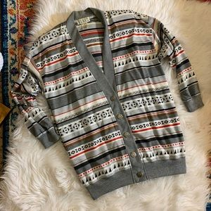 Vintage Button Up Cardigan Sweater